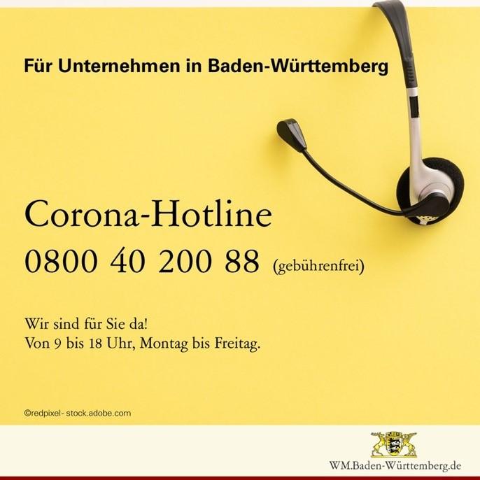 Corona Hotline Pforzheim